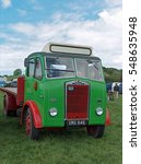 Small photo of A vintage Albion lorry at the Teifi Valley Show at Newcastle Emlyn, Carmarthenshire, Wales, UK in 2015.