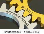 public administration concept... | Shutterstock . vector #548636419