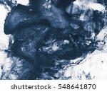 blue creative abstract hand... | Shutterstock . vector #548641870