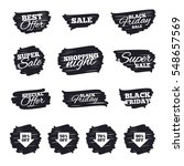 ink brush sale stripes and... | Shutterstock . vector #548657569