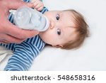the baby is the third month... | Shutterstock . vector #548658316