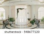 elegant wedding ceremony  | Shutterstock . vector #548677120
