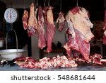 Meat Market In Chichicastenango