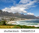 the 12 apostels in cape town in ... | Shutterstock . vector #548685214