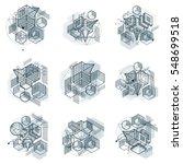 abstract vector backgrounds... | Shutterstock .eps vector #548699518