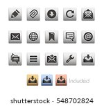 interface icons   the vector... | Shutterstock .eps vector #548702824