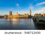 British Parliament And Big Ben...