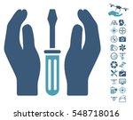 tuning screwdriver care hands... | Shutterstock .eps vector #548718016