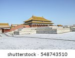 Winter Scene Of Forbidden City