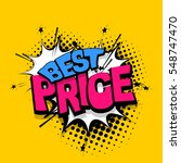 comic text sound effects....   Shutterstock .eps vector #548747470