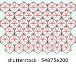 abstract geometric graphic... | Shutterstock .eps vector #548756200
