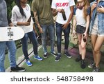 people friendship togetherness... | Shutterstock . vector #548758498