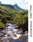 A Small  Rocky Mountain Stream...