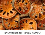 close up of dry quince | Shutterstock . vector #548776990
