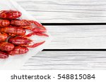 Steamed Crawfish. Red Boiled...