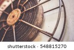the old rusty analog rotary... | Shutterstock . vector #548815270