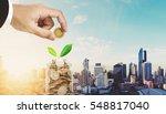 saving money concepts ... | Shutterstock . vector #548817040
