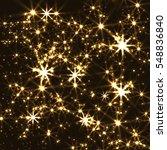 burst of shine glittering stars. | Shutterstock . vector #548836840