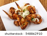 Chicken Wings With Onion  Herb...