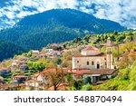 View Of Mountain Village ...