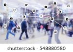 data management system and... | Shutterstock . vector #548880580