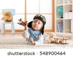 child boy toddler playing with... | Shutterstock . vector #548900464