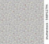 polka dot pattern  seamless... | Shutterstock .eps vector #548912794