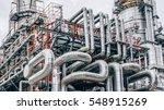 industrial zone the equipment... | Shutterstock . vector #548915269