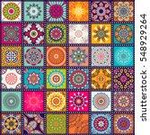 seamless pattern. vintage... | Shutterstock .eps vector #548929264