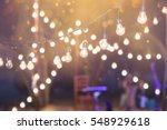 hanging decorative lights for a ... | Shutterstock . vector #548929618
