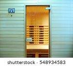the infrared sauna to improve... | Shutterstock . vector #548934583