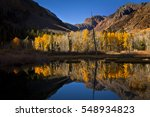 Lundy Canyon In Autumn With...