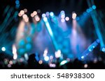 defocused entertainment concert ... | Shutterstock . vector #548938300