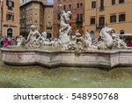 rome   september 13  2015  view ... | Shutterstock . vector #548950768