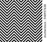 Seamless zig zag background. Chevron pattern in black and white | Shutterstock vector #548957638