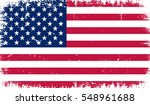 Grunge American Flag.flag Of...