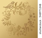 luxury card for invitations ... | Shutterstock .eps vector #548971348