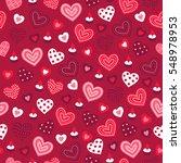 valentine seamless pattern with ...