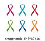 ribbon logo template vector...   Shutterstock .eps vector #548983618
