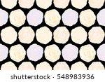 trendy floral seamless pattern... | Shutterstock . vector #548983936