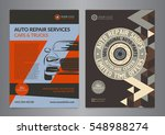 set automotive service centers...   Shutterstock .eps vector #548988274