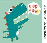 Dinosaur Vector Illustration....