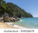 Small photo of Abel Tasman Nationalpark - New Zealand, Beach