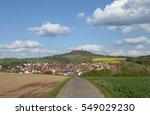 nieder klingen and otzberg ... | Shutterstock . vector #549029230