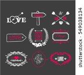 vector illustration of... | Shutterstock .eps vector #549038134