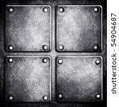 metal template | Shutterstock . vector #54904687