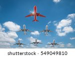 3d rendering air squadron with