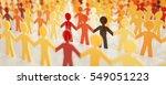 digital people   network... | Shutterstock . vector #549051223