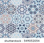 eastern seamless pattern tiles. ... | Shutterstock .eps vector #549052054