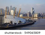 aerial view of millennium dome  ... | Shutterstock . vector #549065809